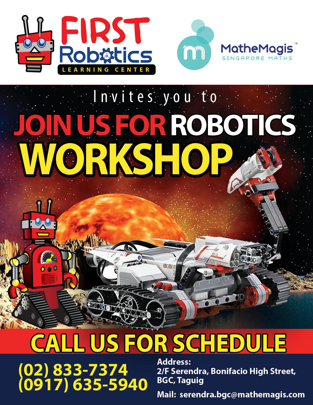 First Robotics Learning Center